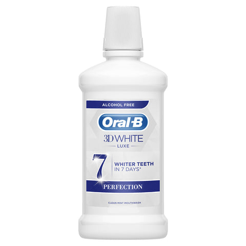 Oral-B 3D White Luxe Perfection Mouthwash