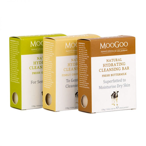 MooGoo Hydrating Cleansing Bars