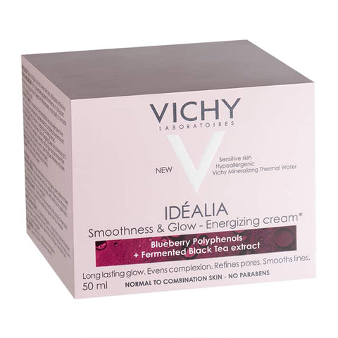 Vichy Idéalia Smoothness & Glow Energizing Day Cream for Normal to Combination skin