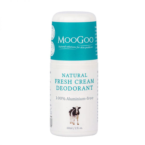 MooGoo Natural Fresh Cream Roll On Deodorant