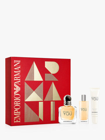 Emporio Armani Because It's You Gift Set