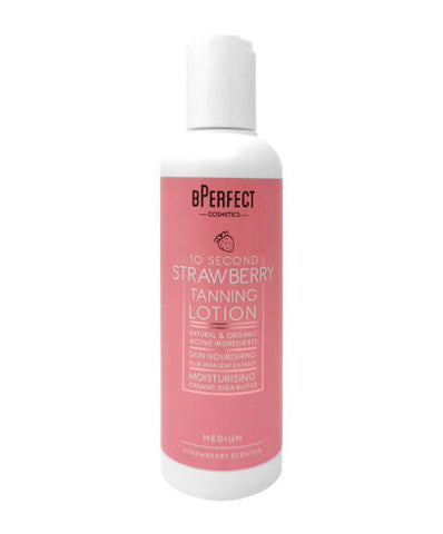 B-Perfect 10 Second Strawberry Tanning Lotion Medium