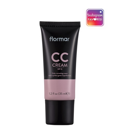 Flormar CC Cream For Blue-Green Imperfections