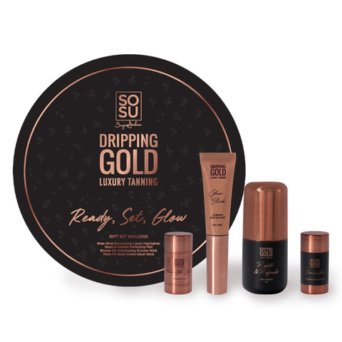 SOSU Dripping Gold Ready Set Glow Set
