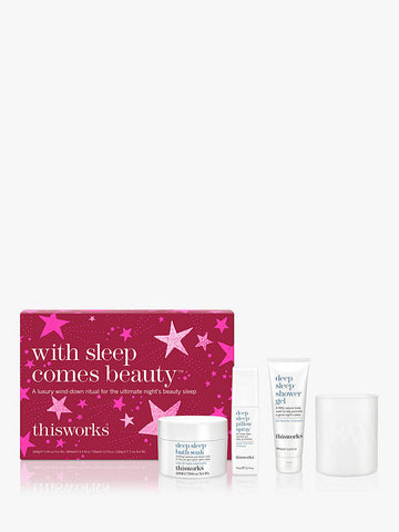 This Works With Sleep Comes Beauty Gift Set