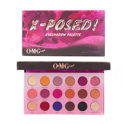 Oh My Glam X-Posed Palette