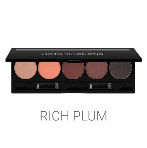 5 Well Eye Shadow Palette Curtis Collection Rich Plum