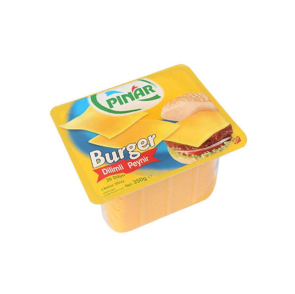 Pınar Burger Dilimli Peynir (Sliced Burger Cheese) 350g