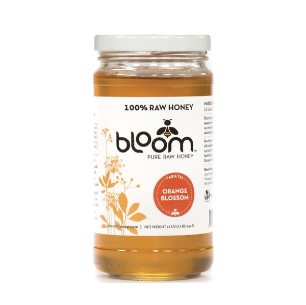 Bloom Raw Honey Orange Blossom 454g
