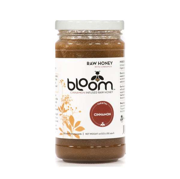 Bloom Raw Honey Cinnamon 454g