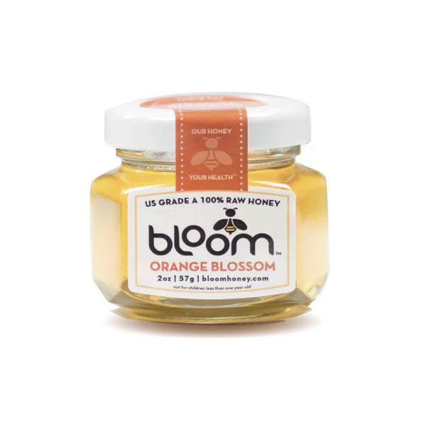 Bloom Raw Honey Orange Blossom 57g