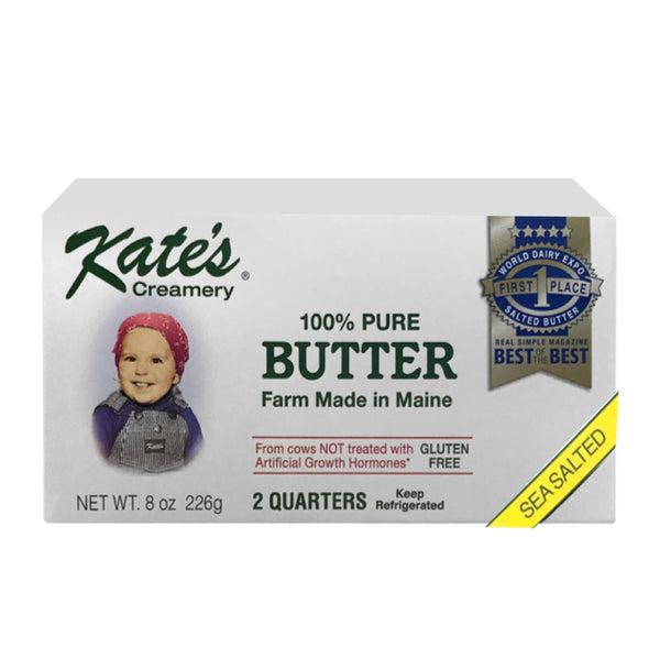 Kate's Creamery 100% Pure Butter Sea Salted 2 sticks 8oz