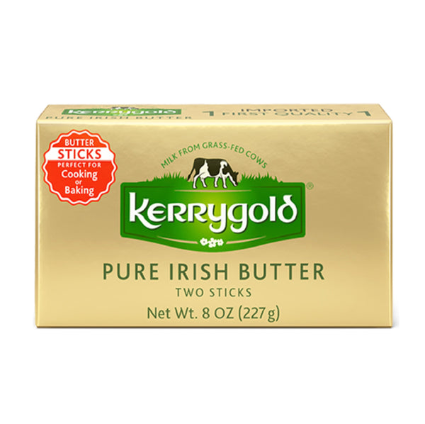 Kerrygold Pure Irish Butter Original Foil 8oz