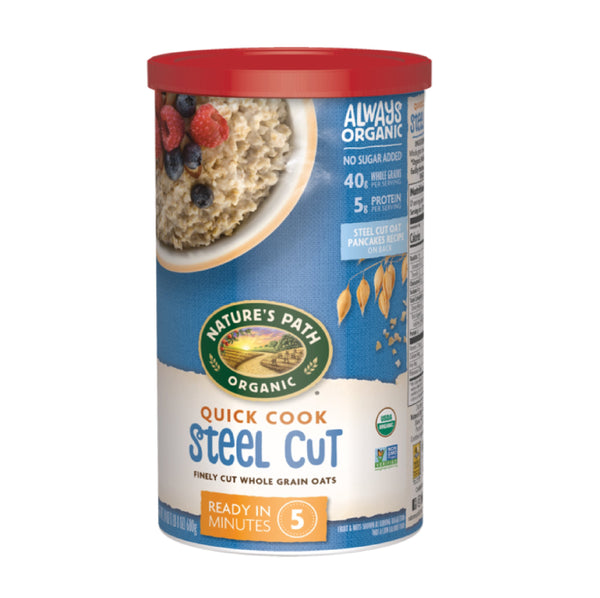 Nature's Path Quick Cook Steel Cut 680g