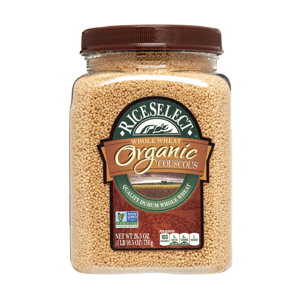RiceSelect Whole Wheat Organic Couscous 26.5oz