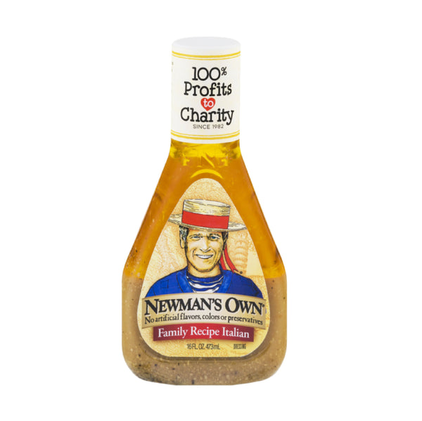 Newman's Own Family Recipe Italian Dressing (İtalyan Salata Sosu) 16oz