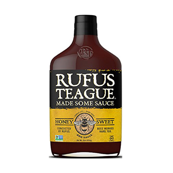 Rufus Teague BBQ Sauce Honey Sweet (Ballı Barbekü Sos) 16oz