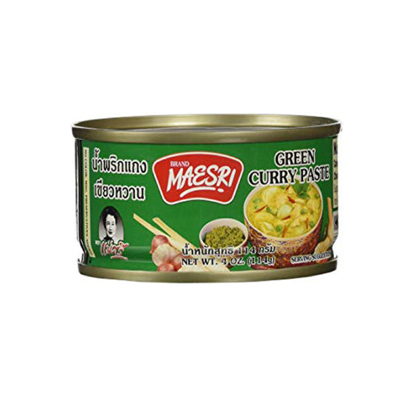 Maesri Green Curry Paste 4oz