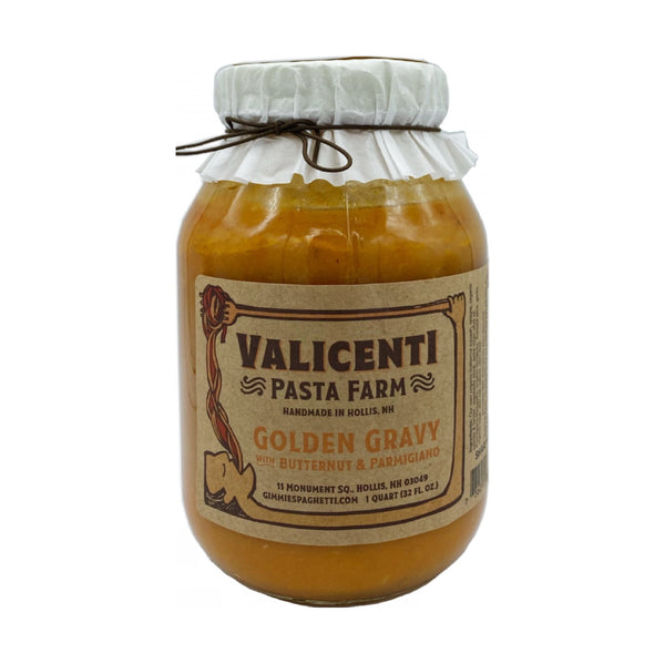 Valicenti Golden Gravy with Butternut & Parmigiano
