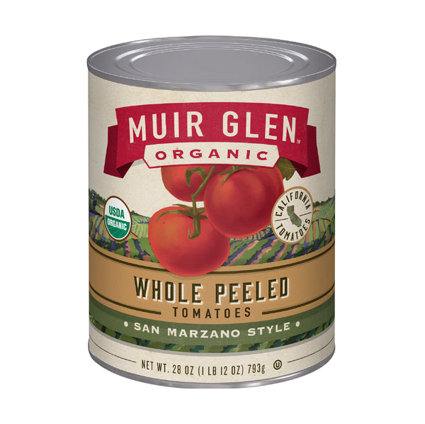 Muir Glen Organic Whole Peeled Tomatoes 14.5oz