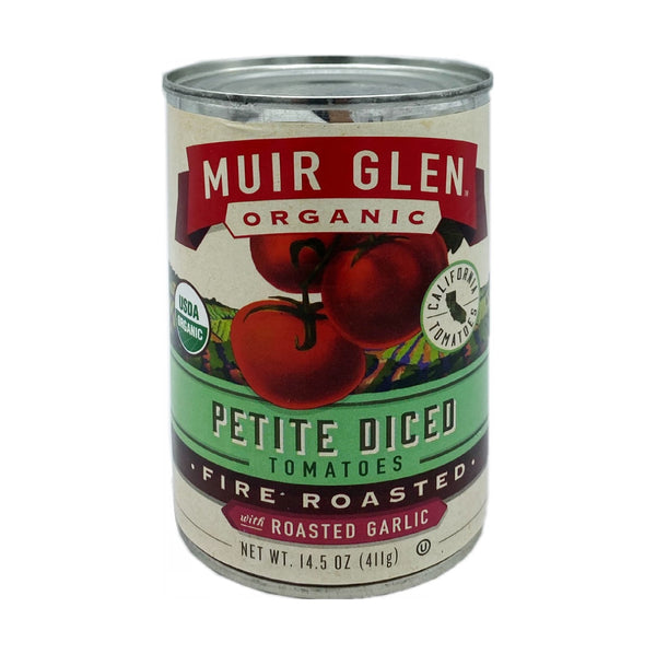 Muir Glen Organic Petite Diced Fire Roasted Tomatoes 14.5oz