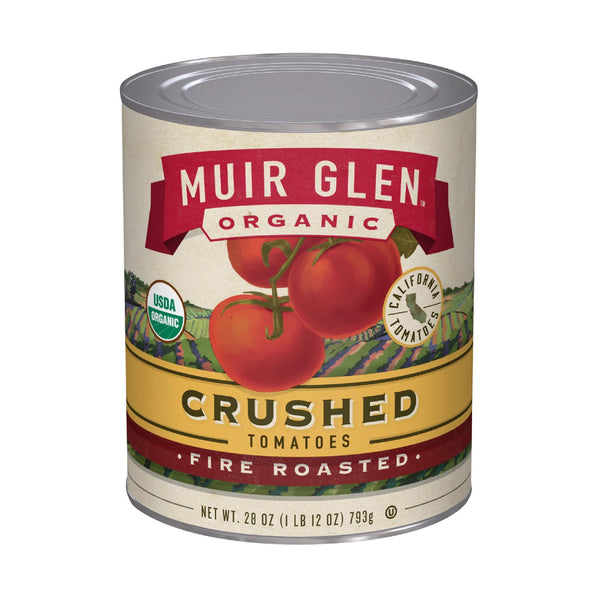 Muir Glen Organic Crushed Tomato Fire Roasted 28oz