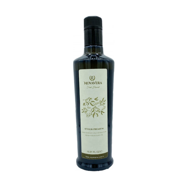 Novavera Extra Virgin Olive Oil Early Harvest (Erken Hasat Zeytinyağı) 16.91 FL oz