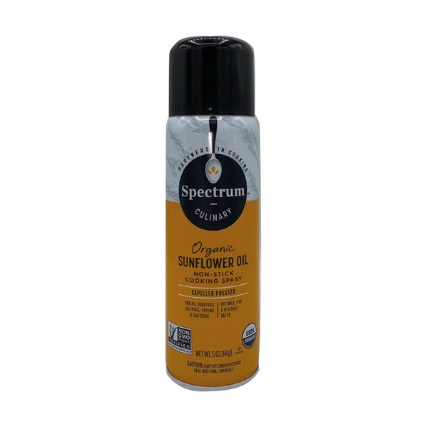 Spectrum Spray Organic Sunflower Oil 170g