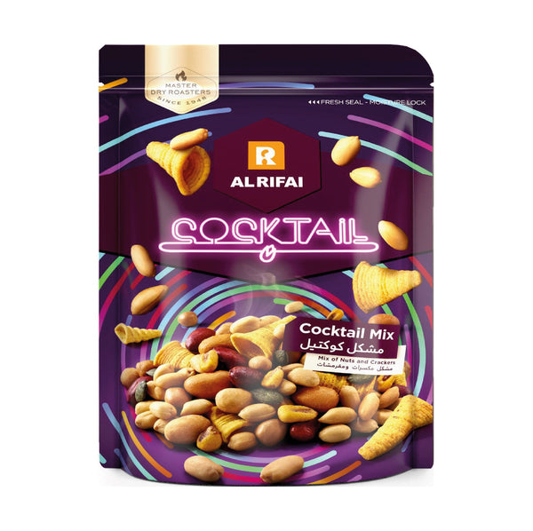 Alrifai Cocktail Mix of Nuts and Crackers 275g