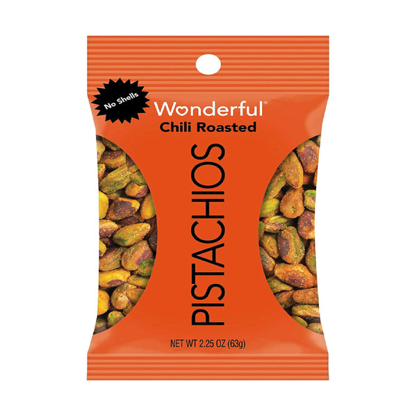 Wonderful Chili Roasted Pistachios 63g