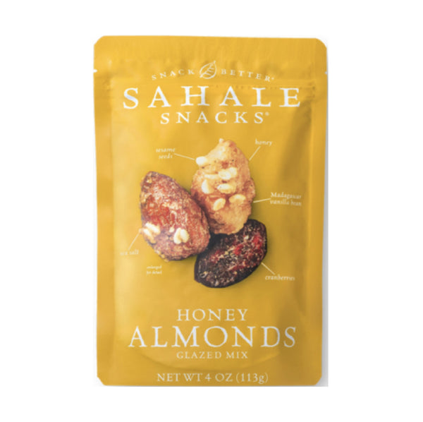Sahale Honey Almond Glazed Mix 113g
