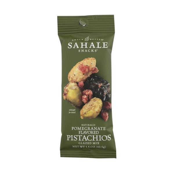 Sahale Pomegranate Flavored Pistachios Glazed Mix 42.5g