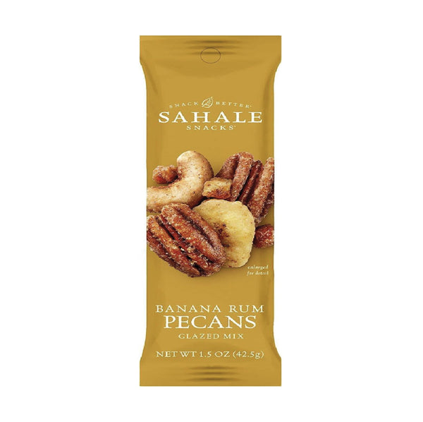 Sahale Banana Rum Pecans Glazed Mix 42.5g