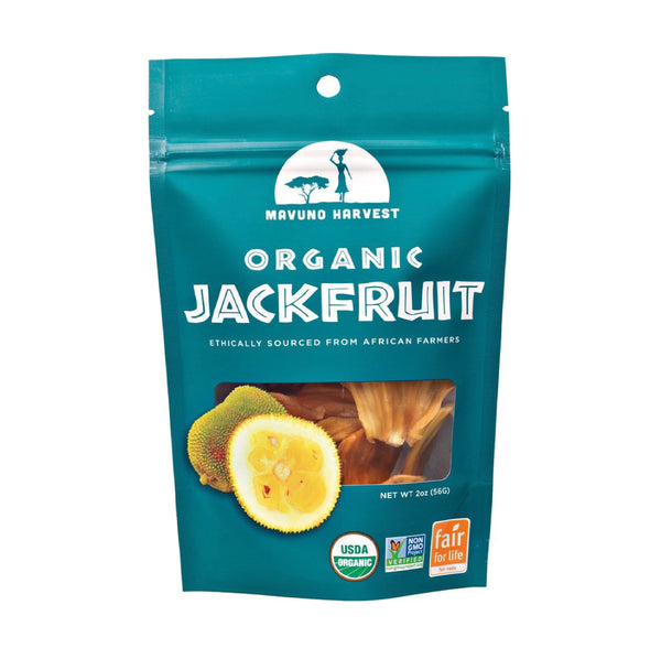Mavuno Harvest Dried Organic Jackfruit 56g