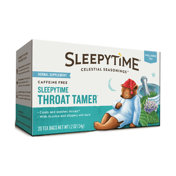 Celestial Sleepytime Throat Tamer Tea 20TB