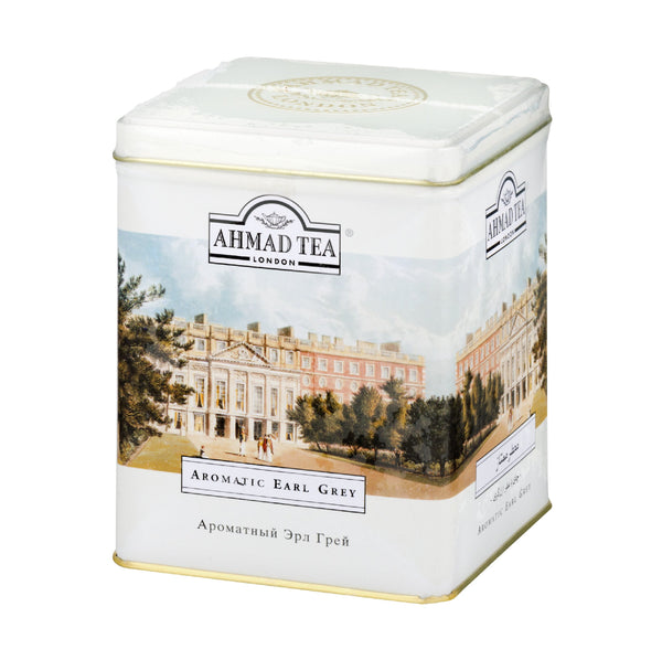 Ahmad Aromatic Earl Grey Tea Can 500g