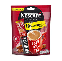 Nescafe 3ü1 Arada 10'lu Paket (Nescafe 3in1 Coffee 10pk)