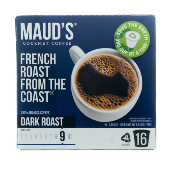 Maud's Gourmet Coffee Dark Roast #9 16cups