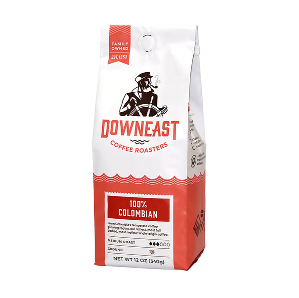 Downeast Coffee 100% Colombian 312g