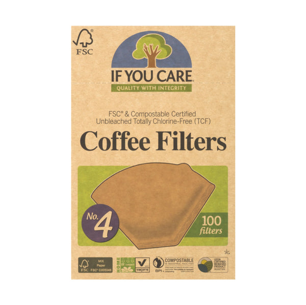 If You Care Coffee Filters #4 100ct