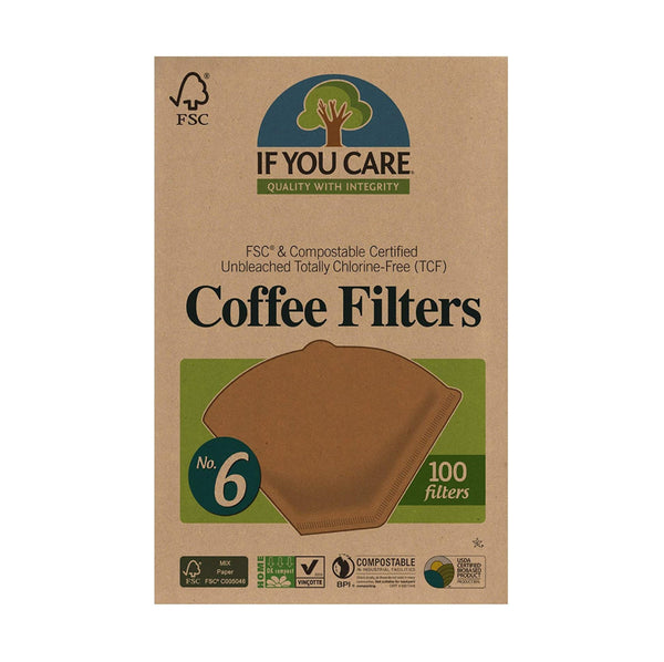If You Care Coffee Filters #6 100ct