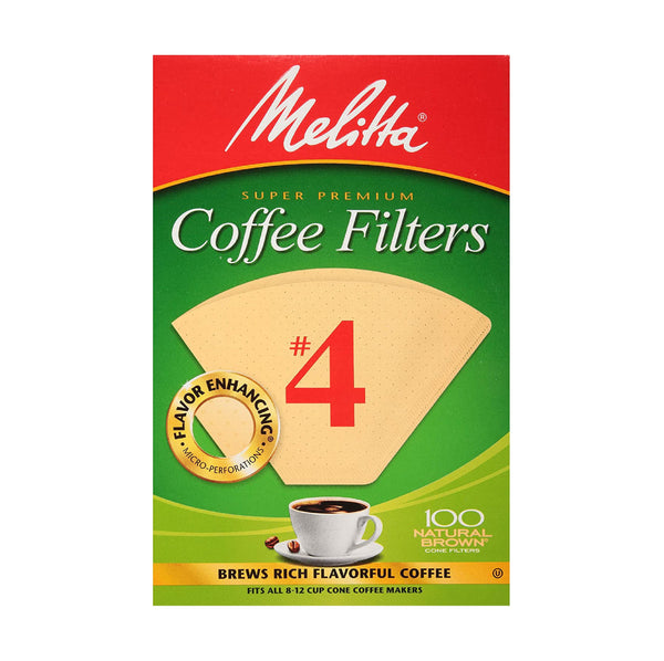 Melitta Coffee Filters #4 100ct