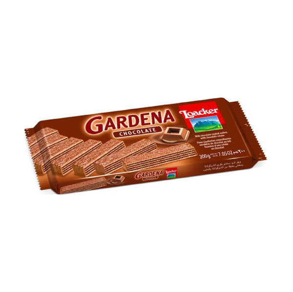 Loacker Gardena Chocolate Wafer 7.05oz (Çikolatali Gofret)