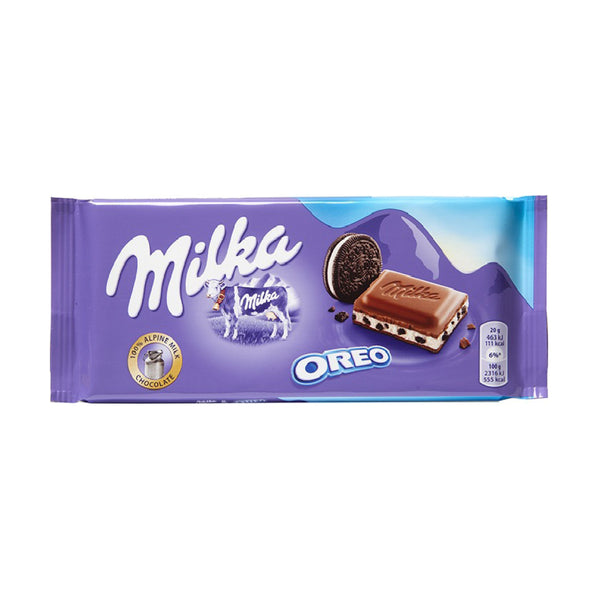 Milka Oreo Brownie Chocolate 100g (Oreo Browni Çikolata)