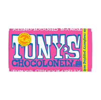Tony's Chocolonely 28% White Chocolate Raspberry Popping Candy 6.35oz