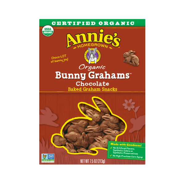 Annie's Organic Bunny Grahams Chocolate 7.5oz