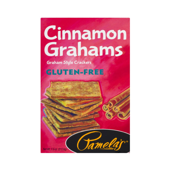 Pamela's Cinnamon Grahams Gluten Free Crackers 7.5oz