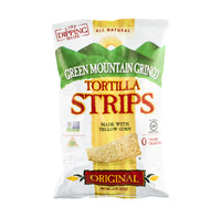 Green Mountain Gringo Tortilla Strips Made with Yellow Corn Gluten Free 8oz