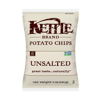 Kettle Unsalted Potato Chips Gluten Free 5oz