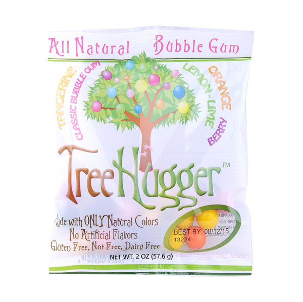 Tree Hugger All Natural Gluten Free Bubble Gum 2oz